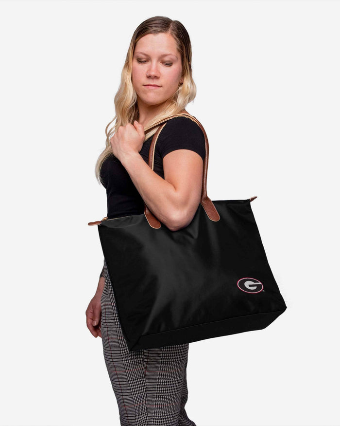Georgia Bulldogs Bold Color Tote Bag FOCO - FOCO.com