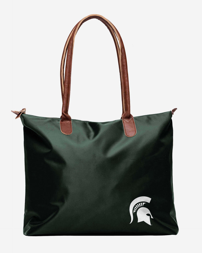 Michigan State Spartans Bold Color Tote Bag FOCO - FOCO.com