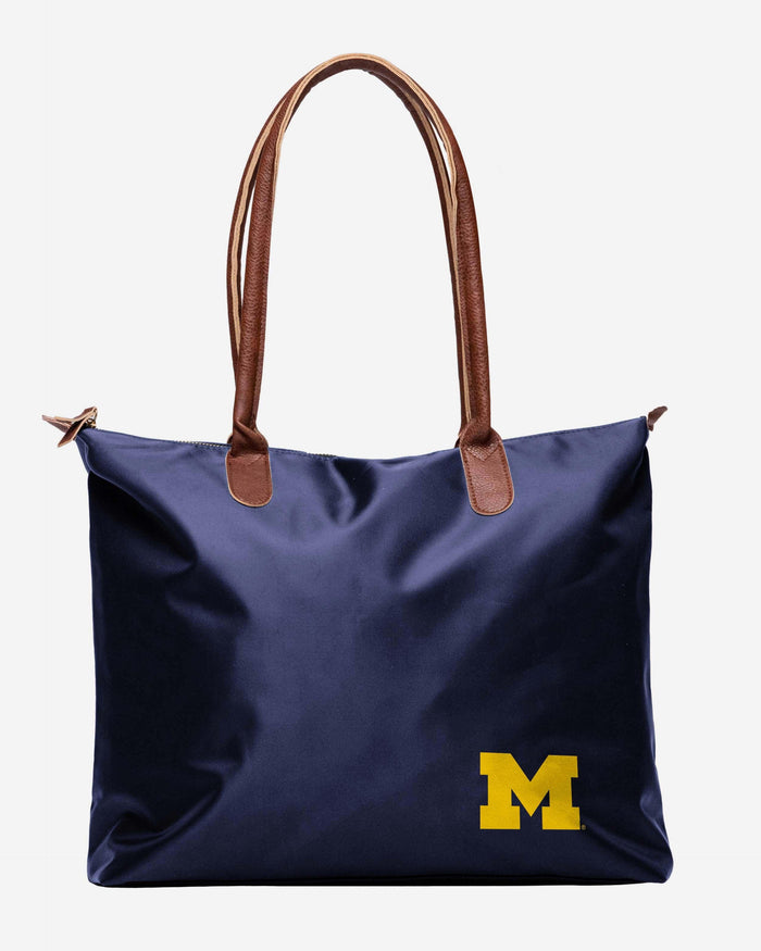 Michigan Wolverines Bold Color Tote Bag FOCO - FOCO.com