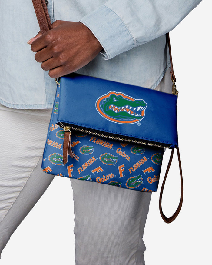 Florida Gators Printed Collection Foldover Tote Bag FOCO - FOCO.com