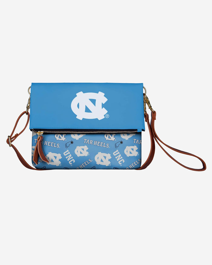 North Carolina Tar Heels Printed Collection Foldover Tote Bag FOCO - FOCO.com