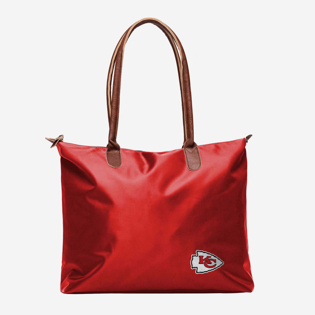 Kansas City Chiefs Bold Color Tote Bag FOCO - FOCO.com