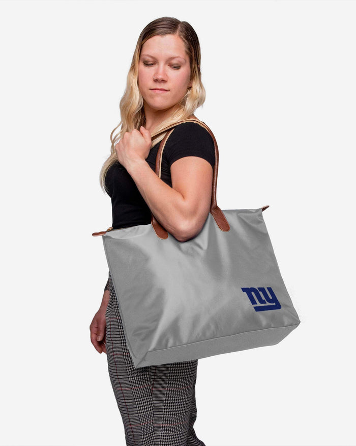New York Giants Bold Color Tote Bag FOCO - FOCO.com