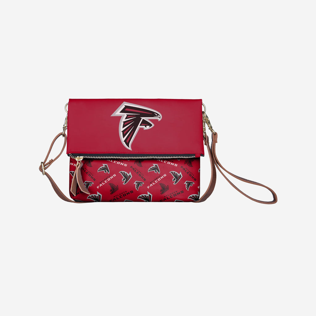 Atlanta Falcons Printed Collection Foldover Tote Bag