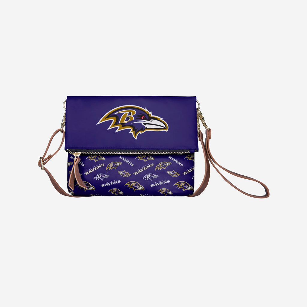 Baltimore Ravens Printed Collection Foldover Tote Bag
