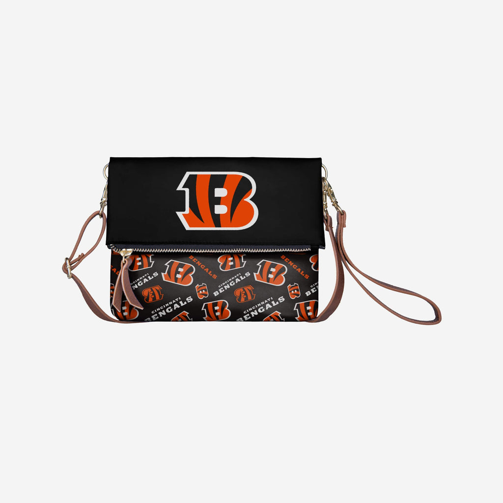 Cincinnati Bengals Printed Collection Foldover Tote Bag