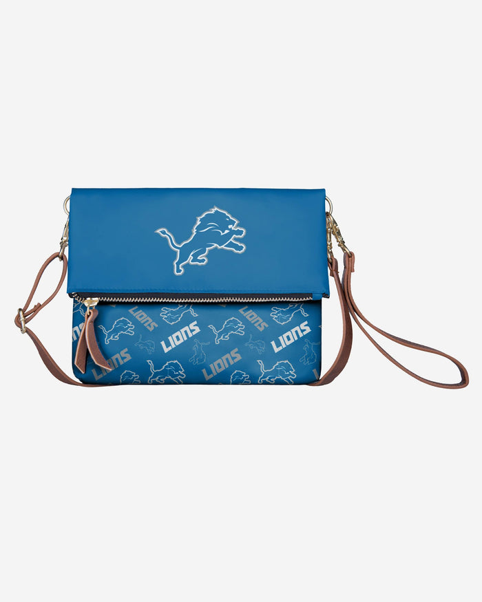 Detroit Lions Printed Collection Foldover Tote Bag FOCO - FOCO.com