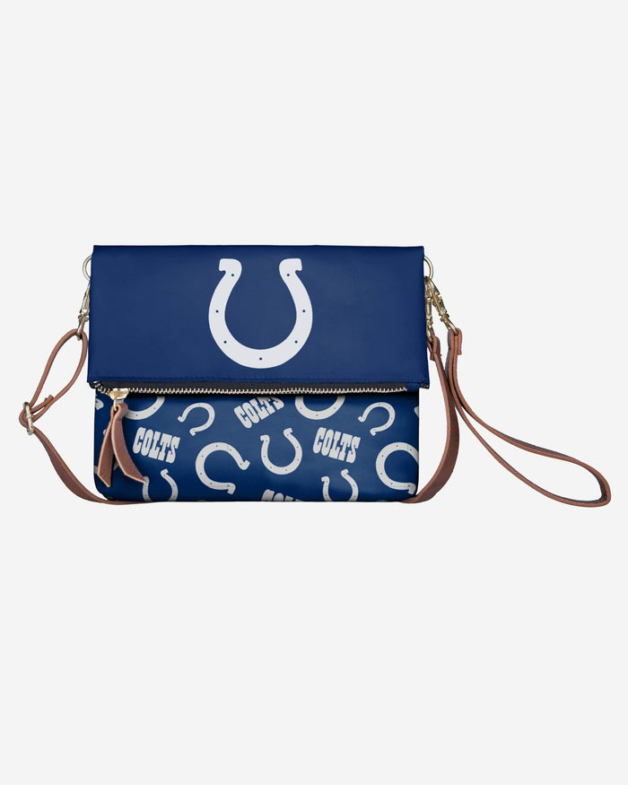 Indianapolis Colts Printed Collection Foldover Tote Bag FOCO - FOCO.com