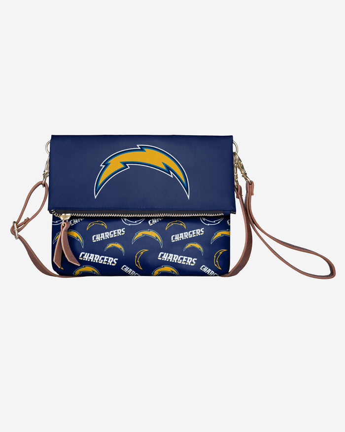 Los Angeles Chargers Printed Collection Foldover Tote Bag FOCO - FOCO.com