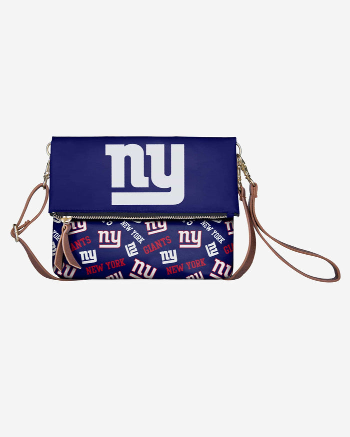 New York Giants Printed Collection Foldover Tote Bag FOCO - FOCO.com