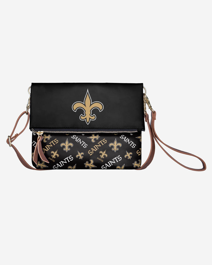 New Orleans Saints Printed Collection Foldover Tote Bag FOCO - FOCO.com
