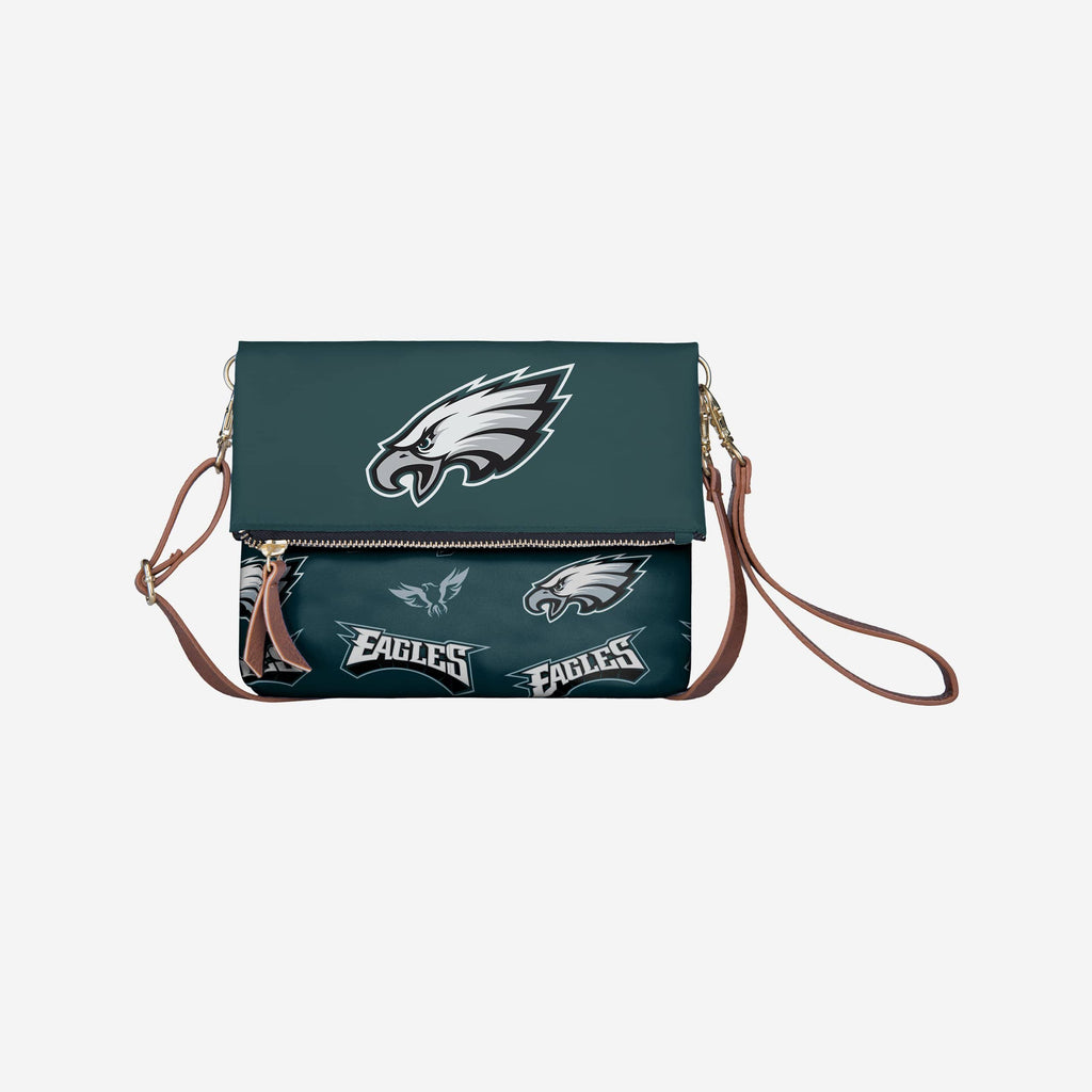 Philadelphia Eagles Printed Collection Foldover Tote Bag