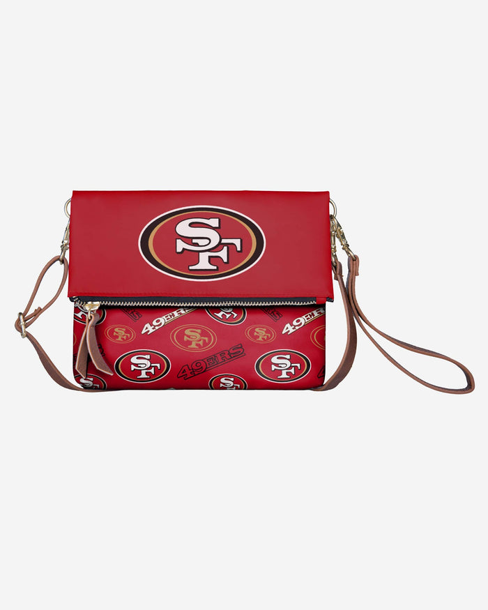 San Francisco 49ers Printed Collection Foldover Tote Bag FOCO - FOCO.com