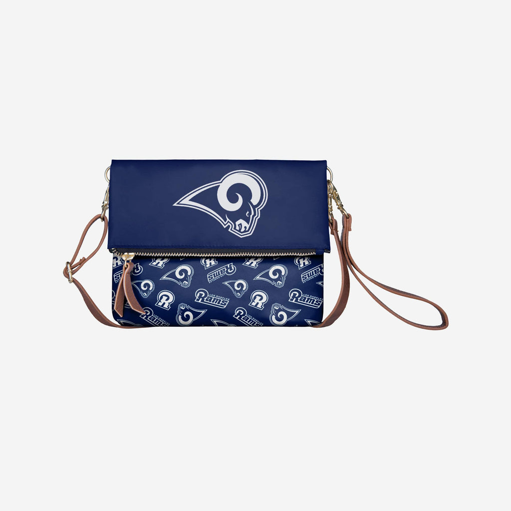 Los Angeles Rams Printed Collection Foldover Tote Bag