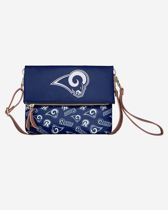 Los Angeles Rams Printed Collection Foldover Tote Bag FOCO - FOCO.com