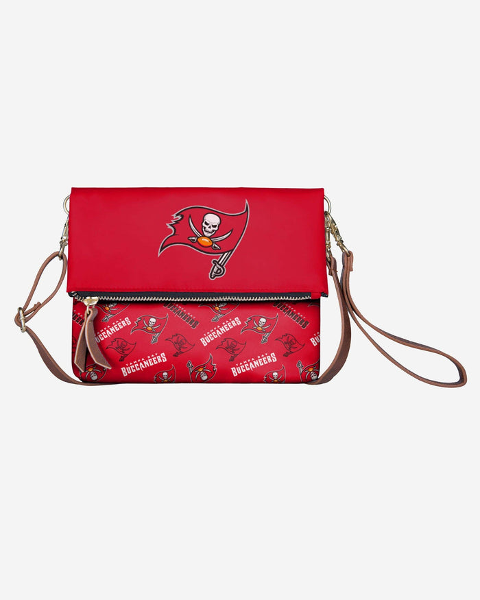 Tampa Bay Buccaneers Printed Collection Foldover Tote Bag FOCO - FOCO.com