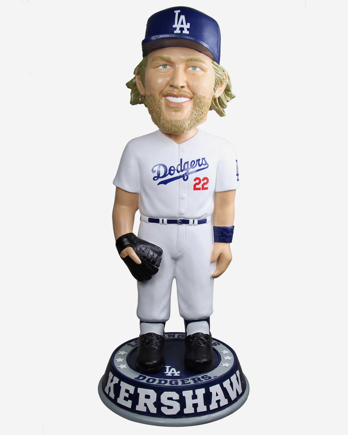 Clayton Kershaw Los Angeles Dodgers 3 Ft Bobblehead FOCO - FOCO.com