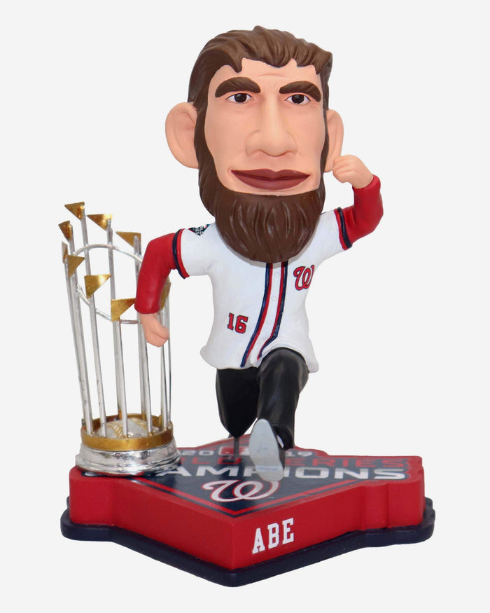 Abraham Lincoln Washington Nationals 2019 World Series Champions Bobblehead FOCO - FOCO.com