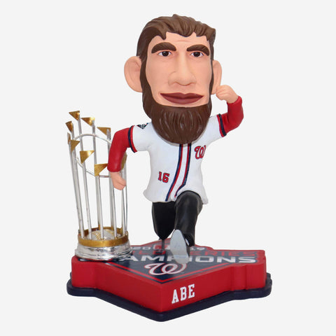 Abraham Lincoln Washington Nationals 2019 World Series Champions Bobblehead