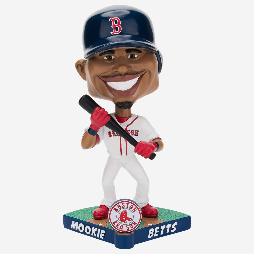 Mookie Betts Boston Red Sox Caricature Bobblehead FOCO - FOCO.com