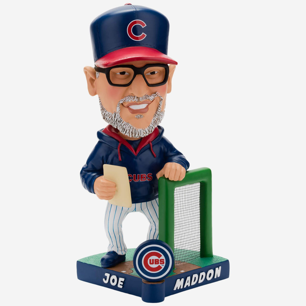 Joe Maddon Chicago Cubs Caricature Bobblehead