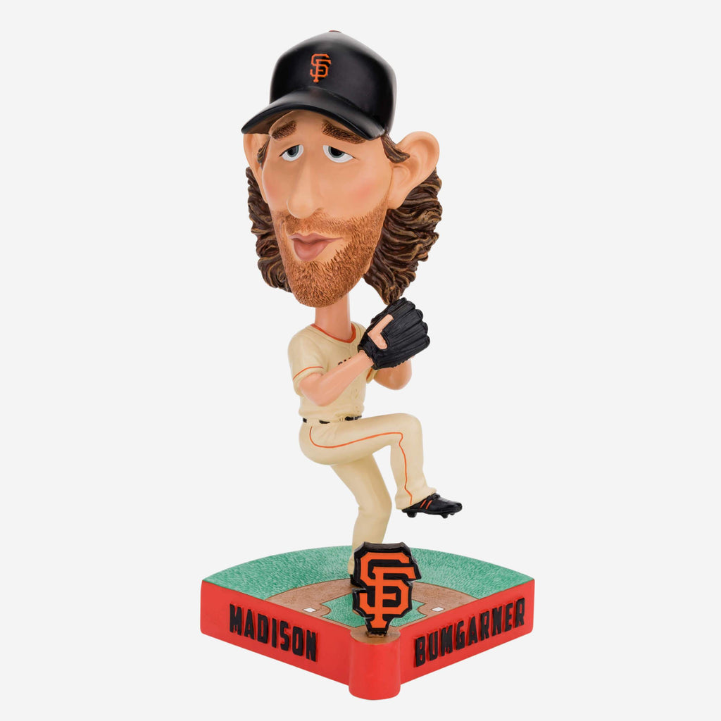 Madison Bumgarner San Francisco Giants Caricature Bobblehead FOCO - FOCO.com
