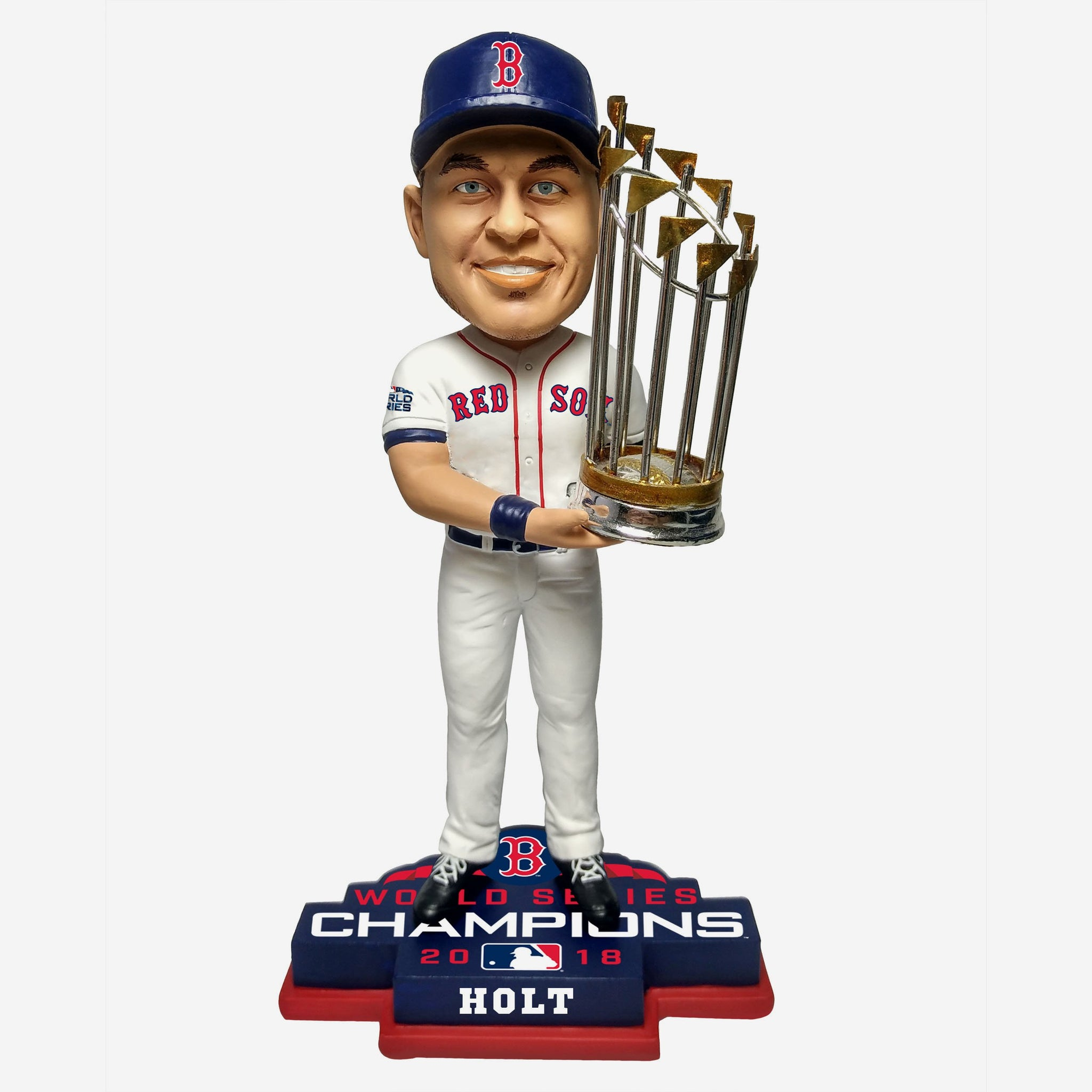Brock Holt Boston Red Sox 2018 World Series Champions Bobblehead