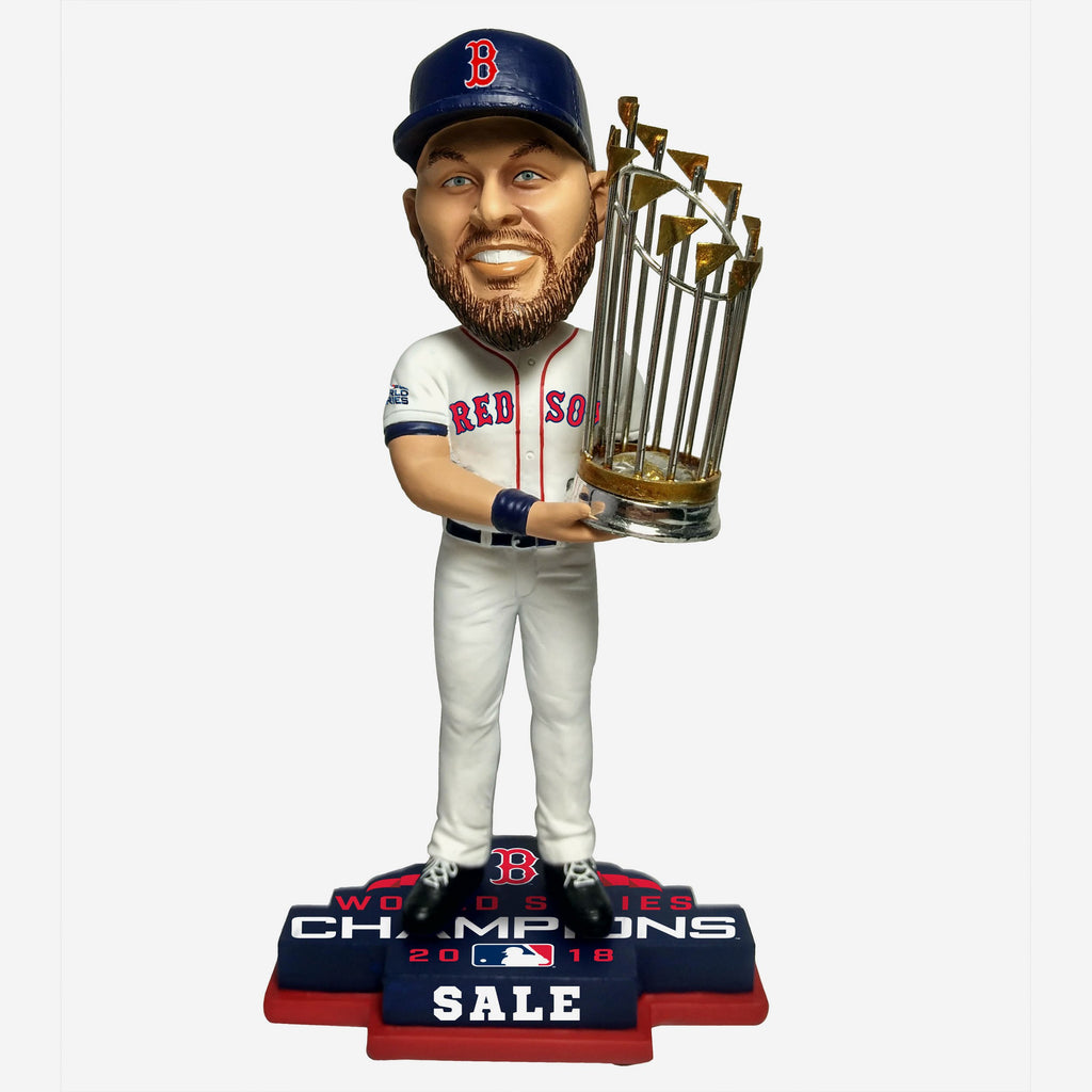 Chris Sale Boston Red Sox 2018 World Series Champions Bobblehead
