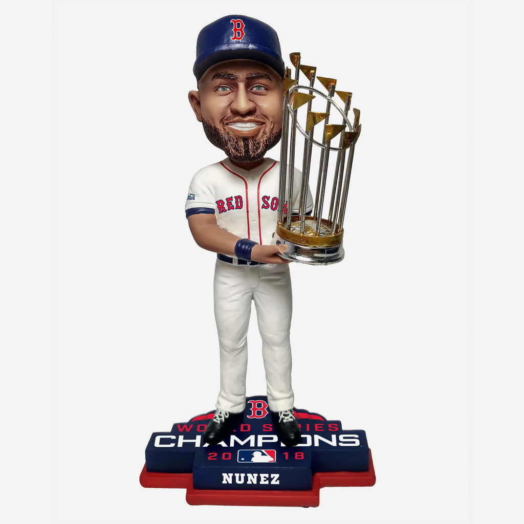 Eduardo Nunez Boston Red Sox 2018 World Series Champions Bobblehead