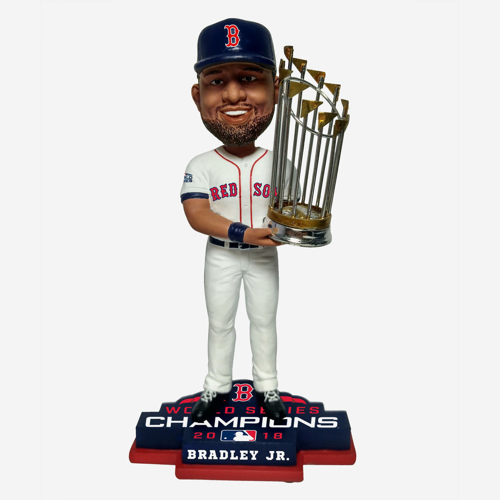 Jackie Bradley Jr Boston Red Sox 2018 World Series Champions Bobblehead FOCO - FOCO.com