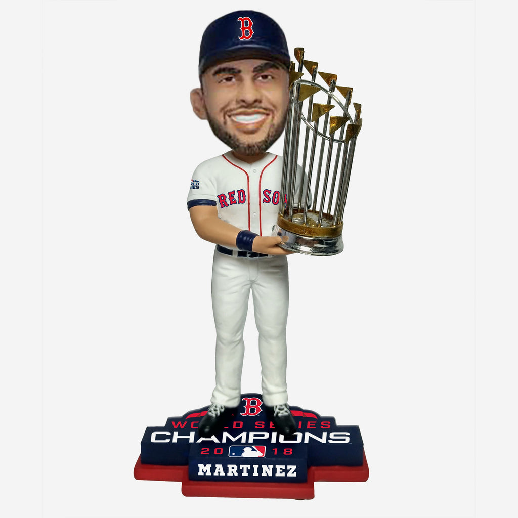JD Martinez Boston Red Sox 2018 World Series Champions Bobblehead