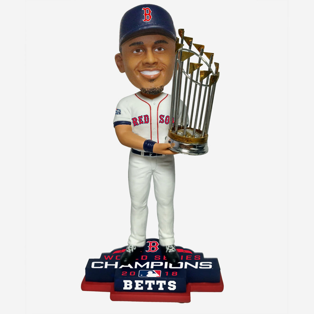 Mookie Betts Boston Red Sox 2018 World Series Champions Bobblehead FOCO - FOCO.com