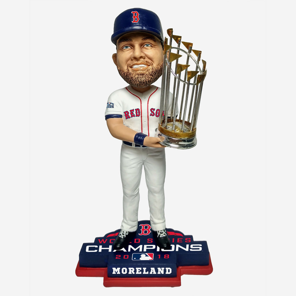 Mitch Moreland Boston Red Sox 2018 World Series Champions Bobblehead FOCO - FOCO.com