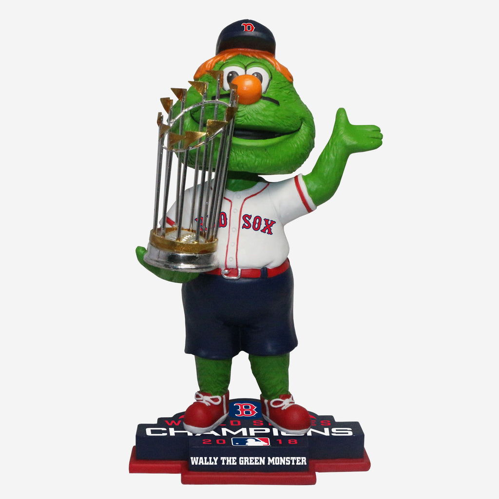 Wally Boston Red Sox 2018 World Series Champions Mascot Bobblehead FOCO - FOCO.com