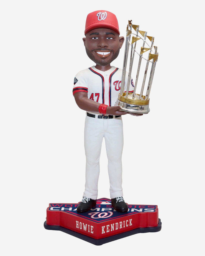 Howie Kendrick Washington Nationals 2019 World Series Champions Bobblehead FOCO - FOCO.com