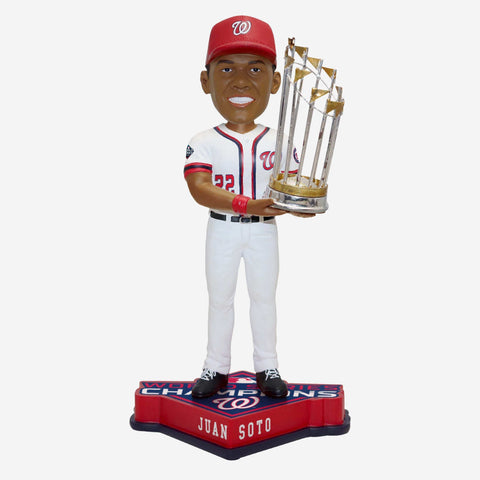 Juan Soto Washington Nationals 2019 World Series Champions Bobblehead