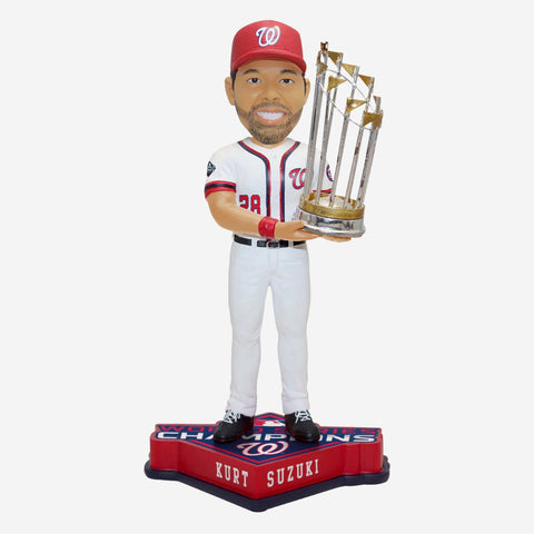 Kurt Suzuki Washington Nationals 2019 World Series Champions Bobblehead