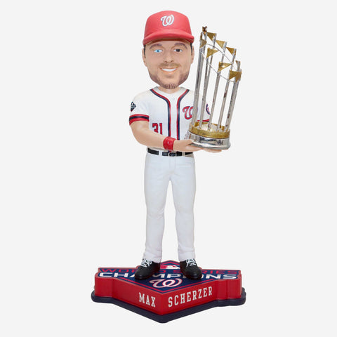 Max Scherzer Washington Nationals 2019 World Series Champions Bobblehead