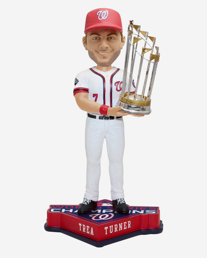 Trea Turner Washington Nationals 2019 World Series Champions Bobblehead FOCO - FOCO.com