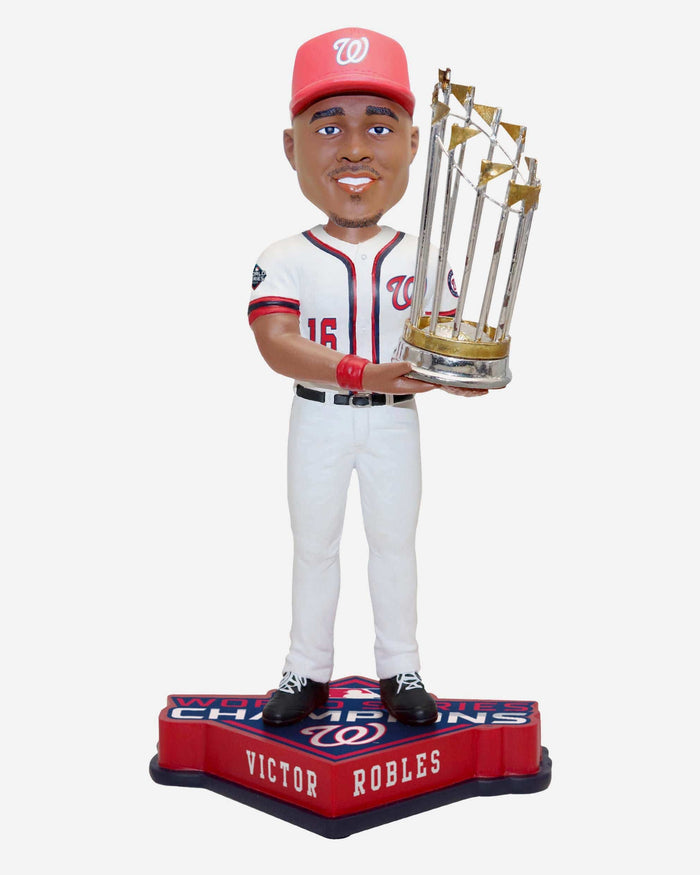 Victor Robles Washington Nationals 2019 World Series Champions Bobblehead FOCO - FOCO.com