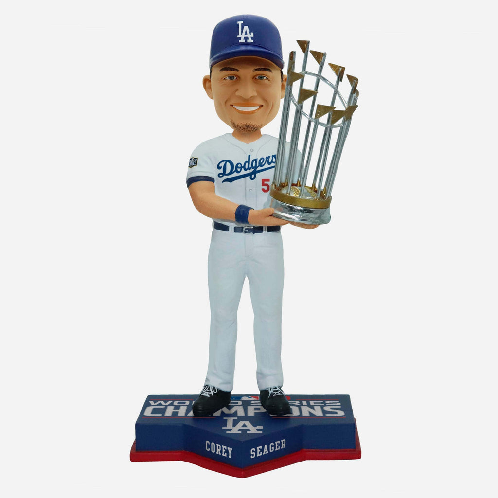Corey Seager Los Angeles Dodgers 2020 World Series Champions Bobblehead FOCO - FOCO.com