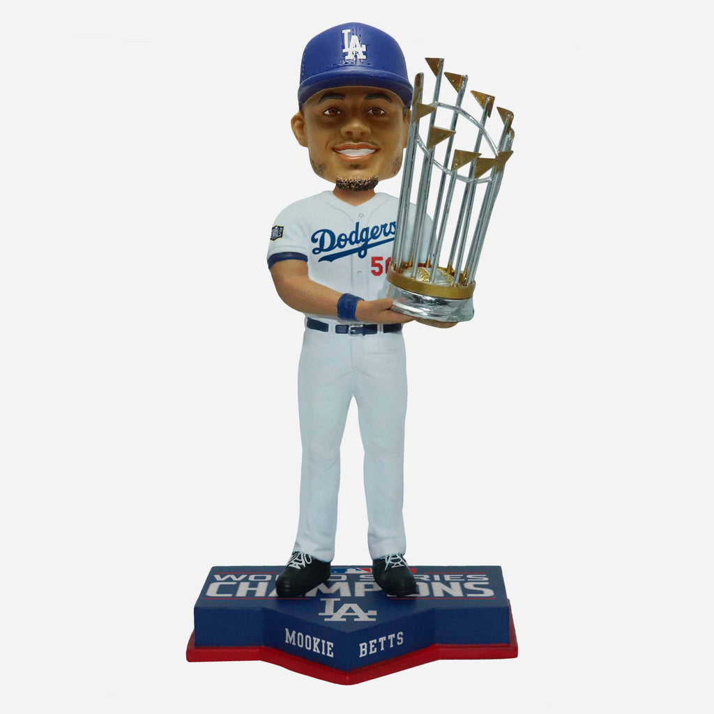 Mookie Betts Los Angeles Dodgers 2020 World Series Champions Bobblehead FOCO - FOCO.com