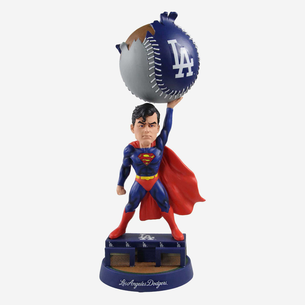 Los Angeles Dodgers DC Comics Superman Bobblehead FOCO - FOCO.com