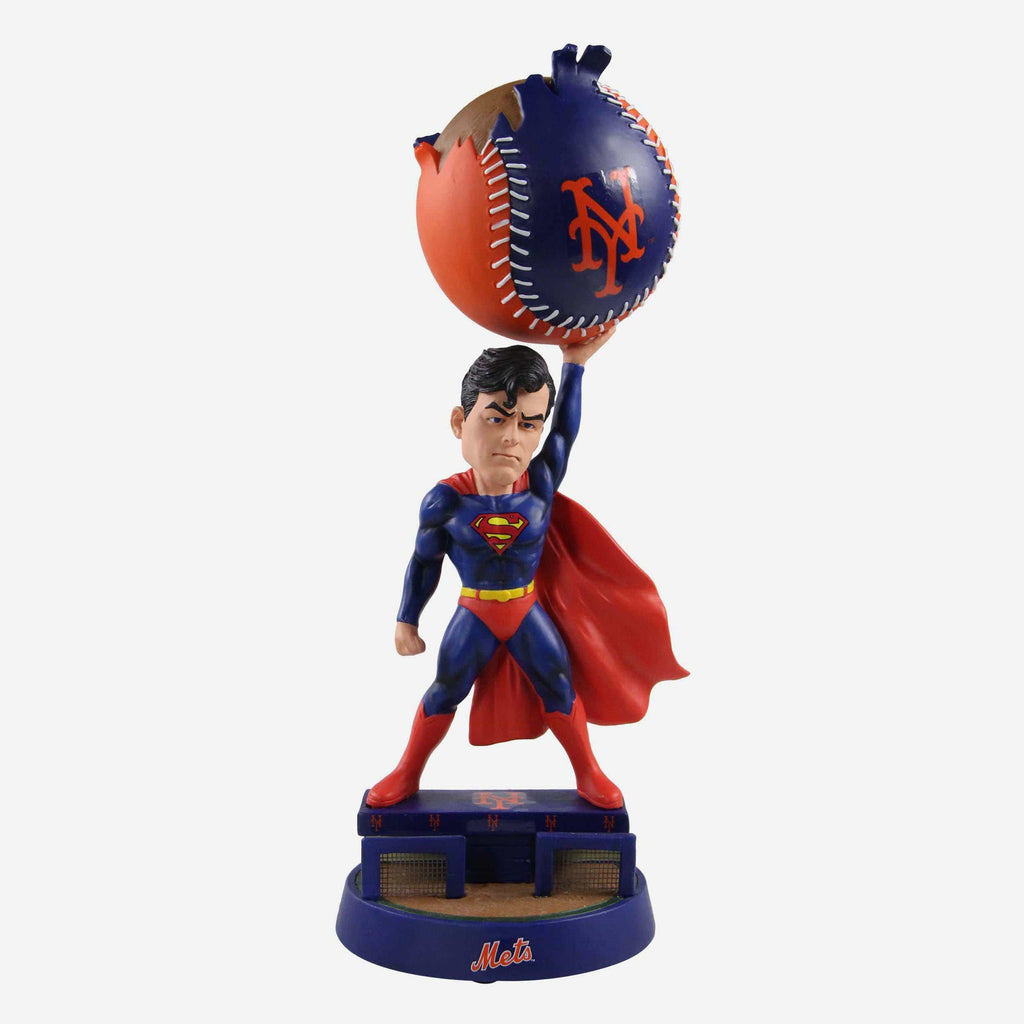 New York Mets DC Comics Superman Bobblehead FOCO - FOCO.com
