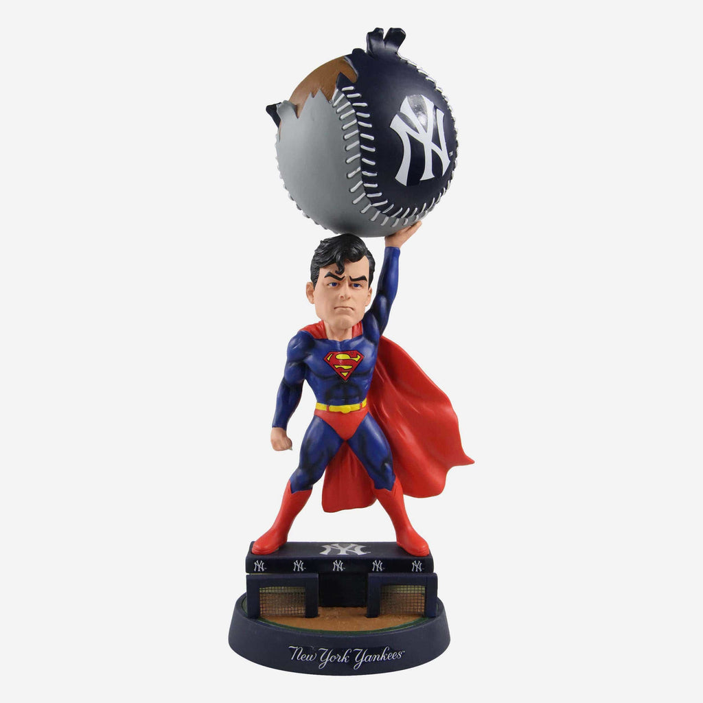 New York Yankees DC Comics Superman Bobblehead FOCO - FOCO.com