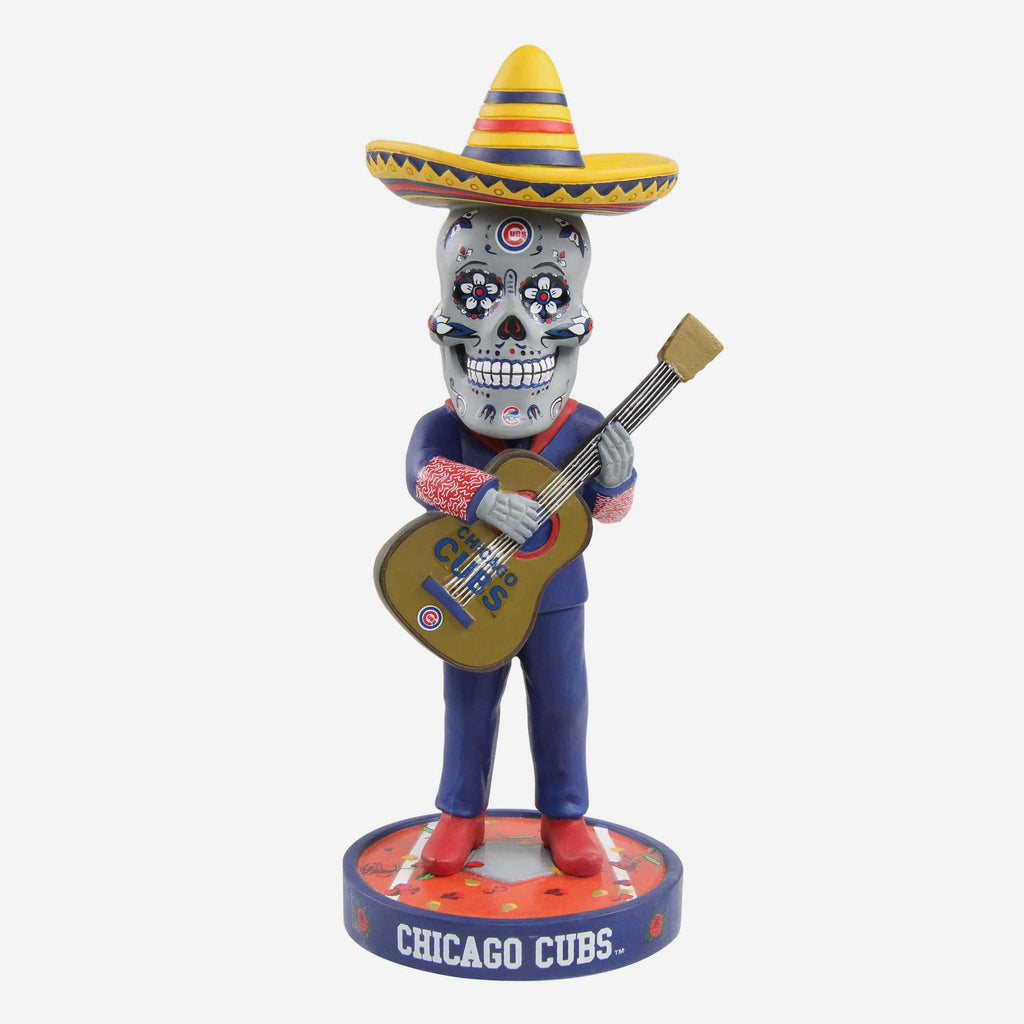 Chicago Cubs Day Of The Dead Bobblehead FOCO - FOCO.com