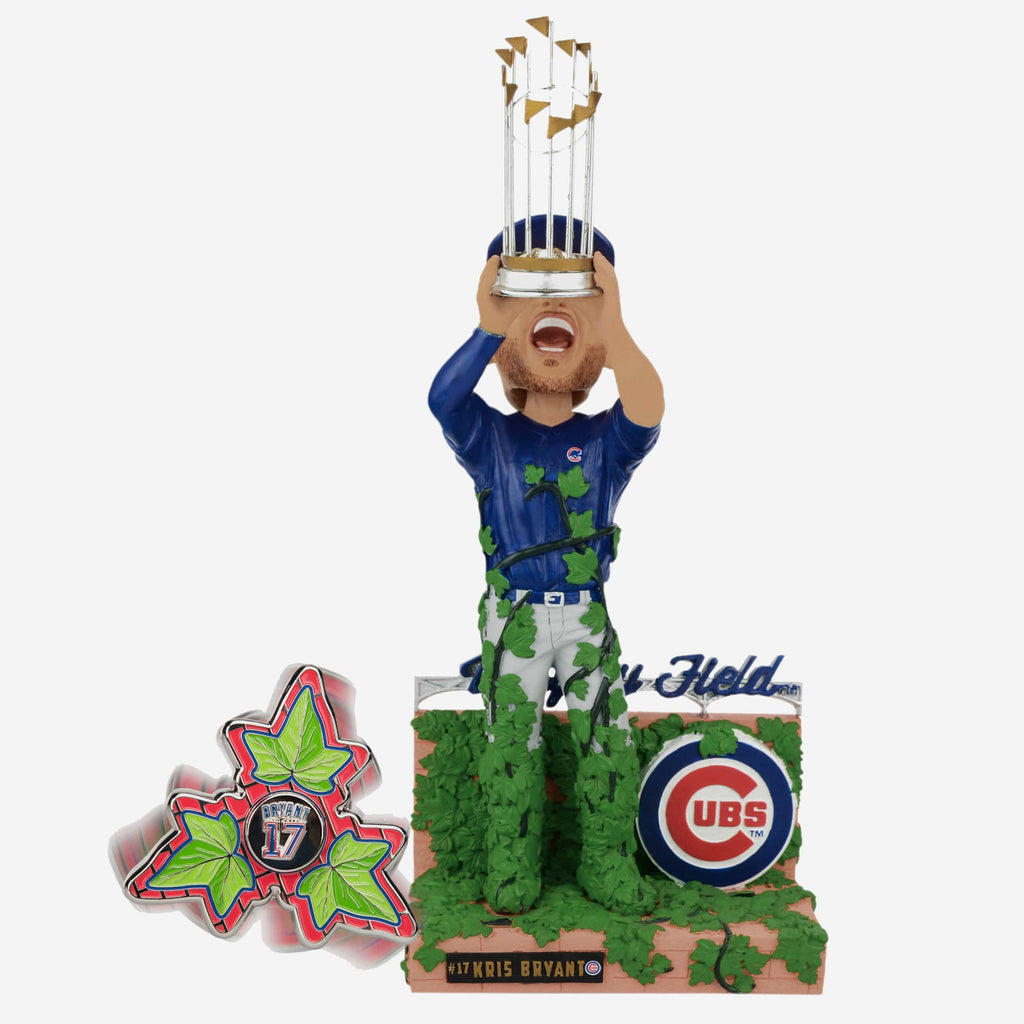 Kris Bryant Chicago Cubs Bobblehead & Diztracto Spinnerz FOCO - FOCO.com