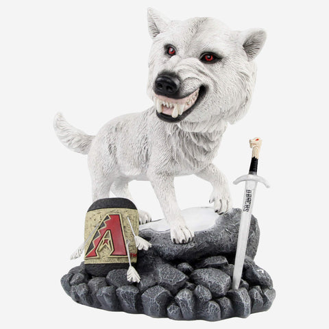 Arizona Diamondbacks Game Of Thrones Direwolf Bobblehead
