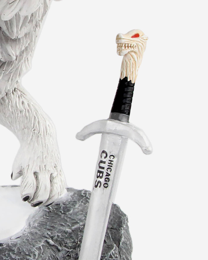 Chicago Cubs Game Of Thrones Direwolf Bobblehead FOCO - FOCO.com