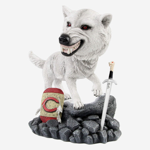 Cincinnati Reds Game Of Thrones Direwolf Bobblehead